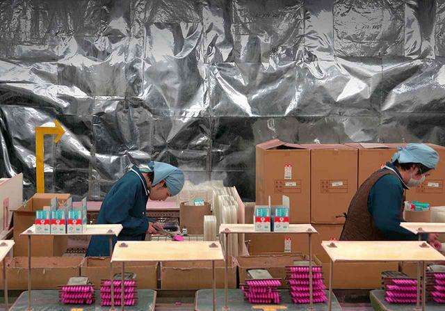 画像1: ミハイル・カリキス《チョーク工場》 2017年 ビデオ