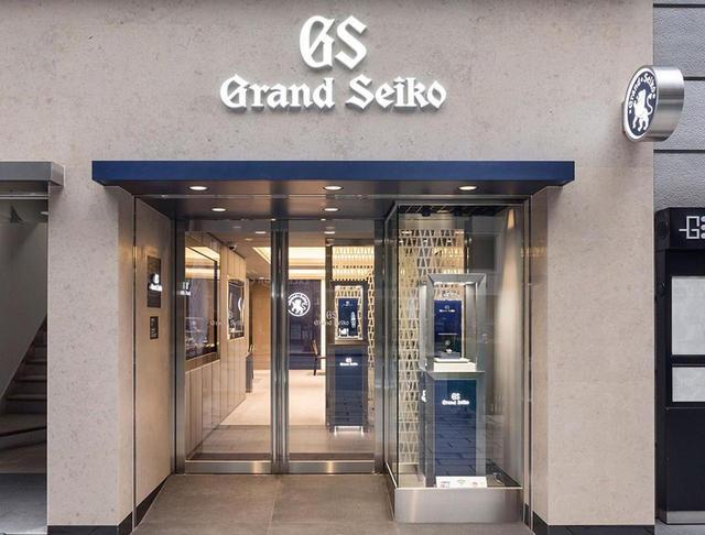 画像: セイコーの前身、服部時計店の創業地である銀座にオープンした「グランドセイコーブティック 銀座」。目抜き通りである銀座中央通りに面する