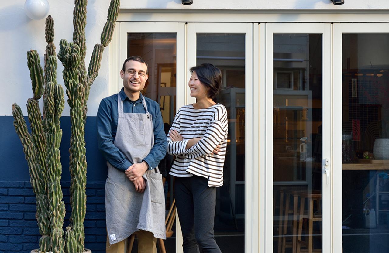 Images : マルコとパートナーの阿部莉香さん