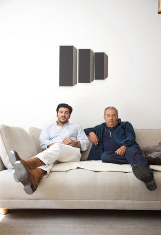 ピエール(左)とジャン・トゥイトゥ(右)