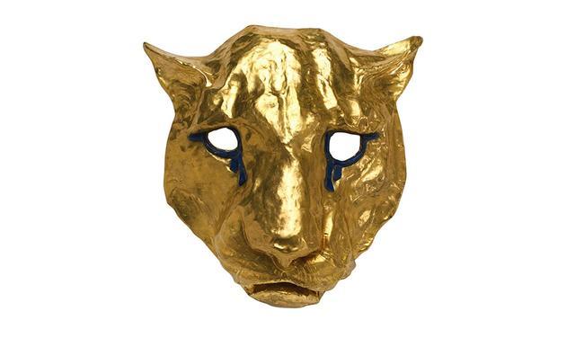 画像: 「MASQUE BALAM」 マヤとインカ文明にインスピレーションを得た仮面。24Kゴールドを使用し、目のまわりにはラピスラズリをあしらった