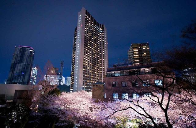 画像: 赤坂の華やかなインテリジェント・シティ「ARK HILLS」内にそびえるホテル外観