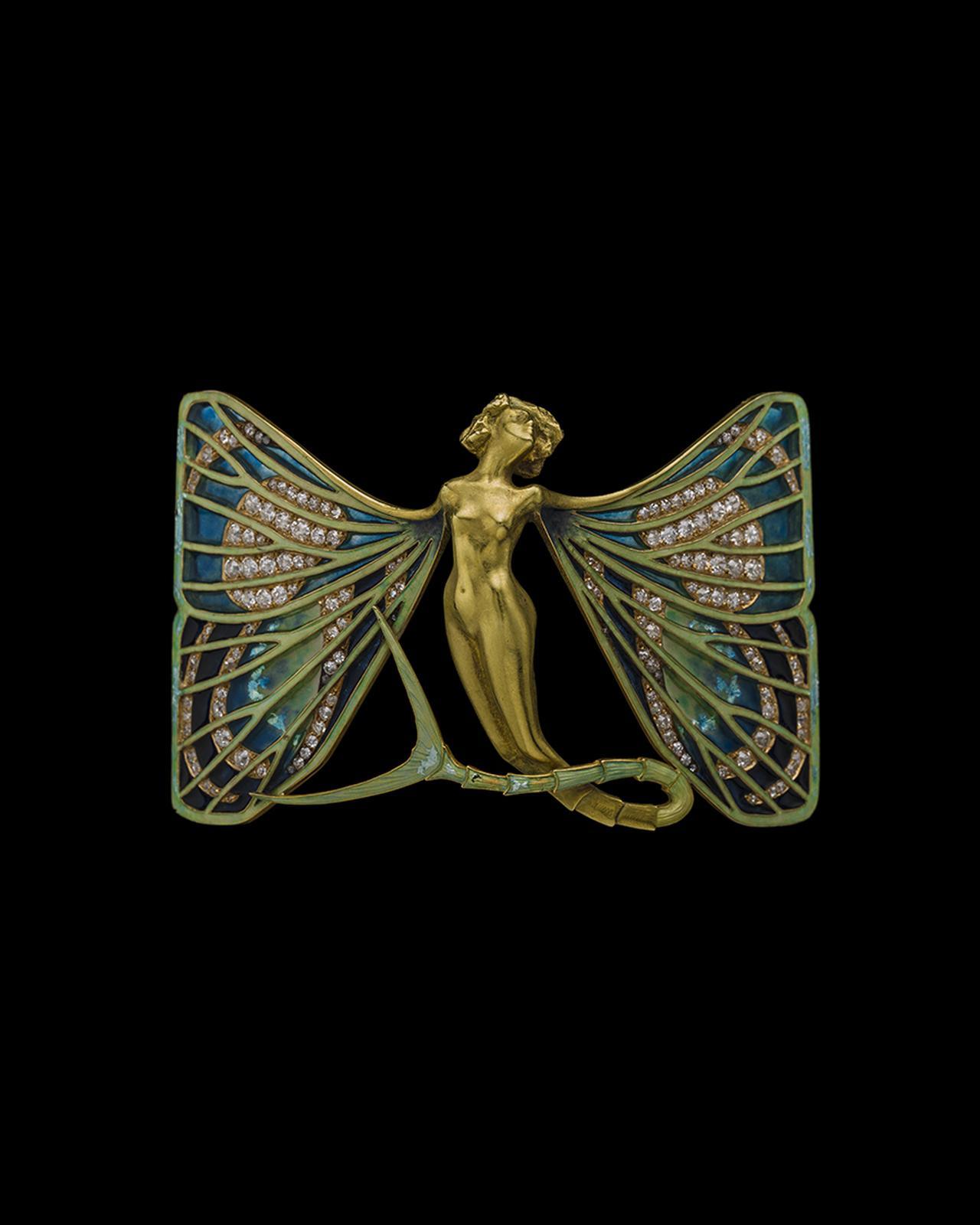 Images : 「シルフィードのバタフライ ブローチ」 ルネ・ラリック<1898~1900年頃>