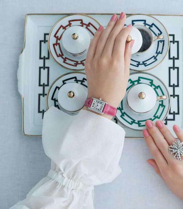 画像1: 美しい時計と 素敵なカップがあれば