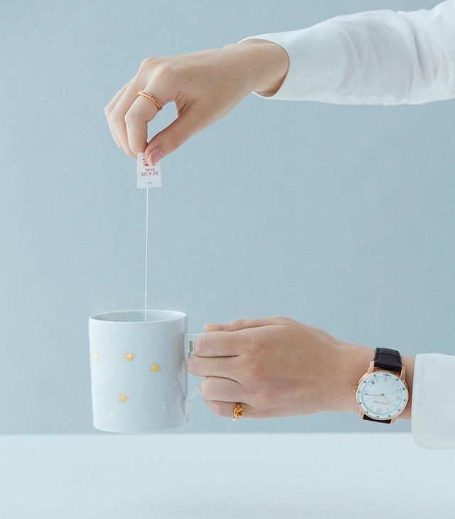 画像4: 美しい時計と 素敵なカップがあれば