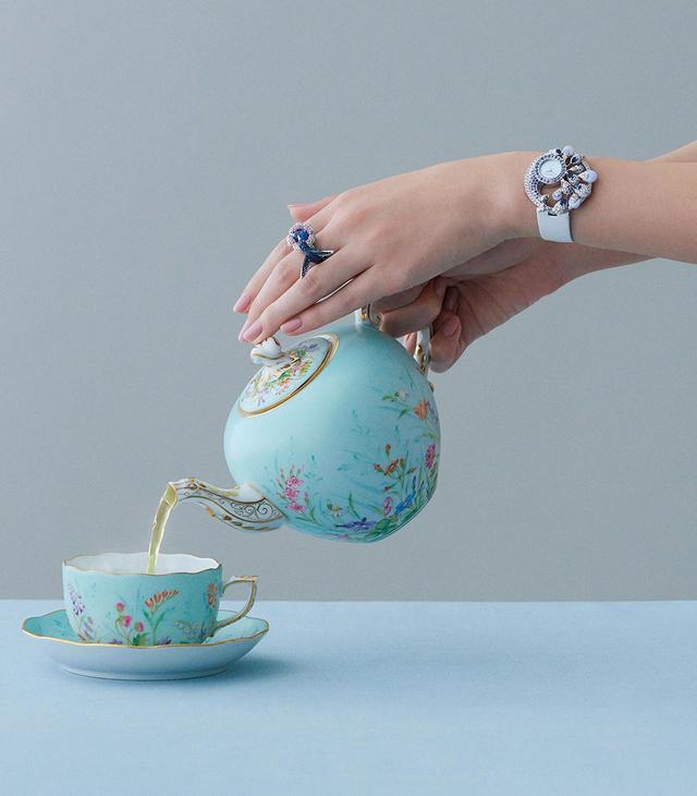 画像6: 美しい時計と 素敵なカップがあれば