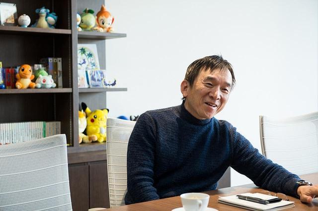 画像: 株式会社ポケモン CEO 石原恒和 さすが、名刺にはピカチュウのイラスト入り