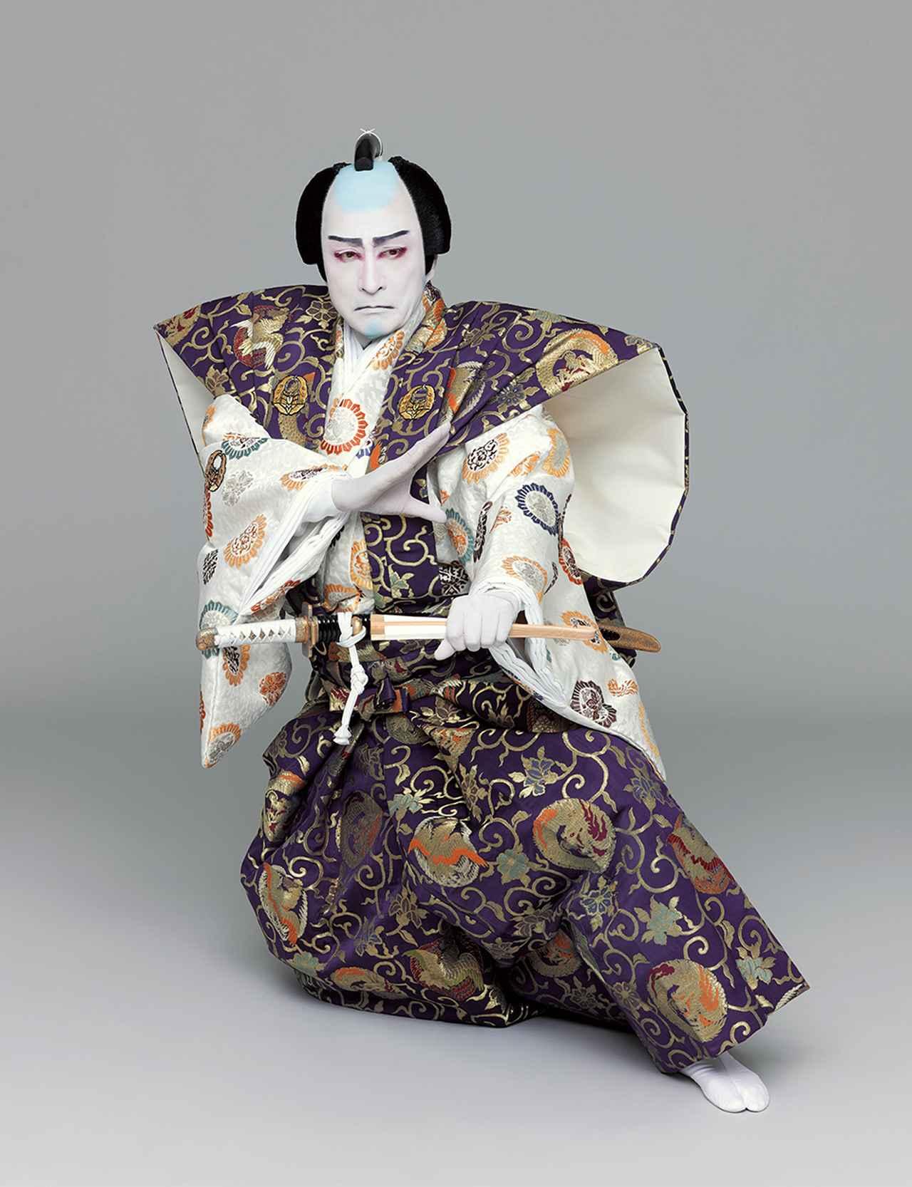 Images : 『実盛物語』斎藤実盛=片岡仁左衛門