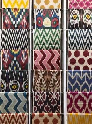 アトラスと称される絹織物