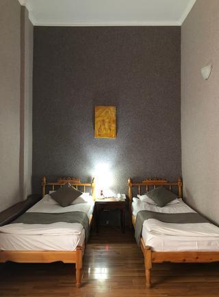 「Malika Bukahara Hotel(ホテル・マリカ)」の室内