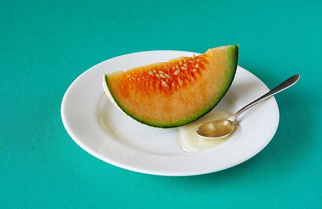 画像: 田口さんにとって長年のナゾ「Honeyed melon」。はちみつがけのメロンなのか、はたまた…?