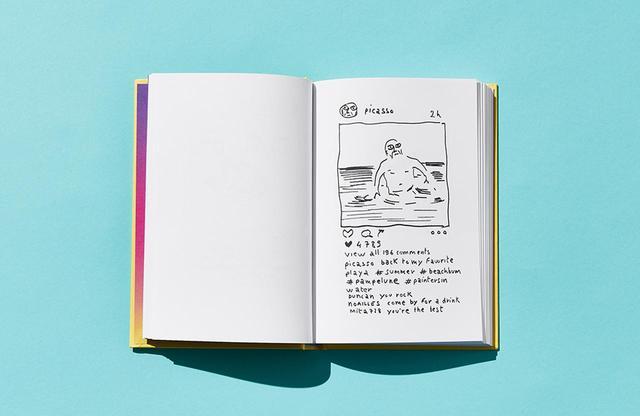 """画像: ピカソのインスタグラム。お気に入りのイビザ島のプラヤビーチでのエピソードを""""投稿"""""""