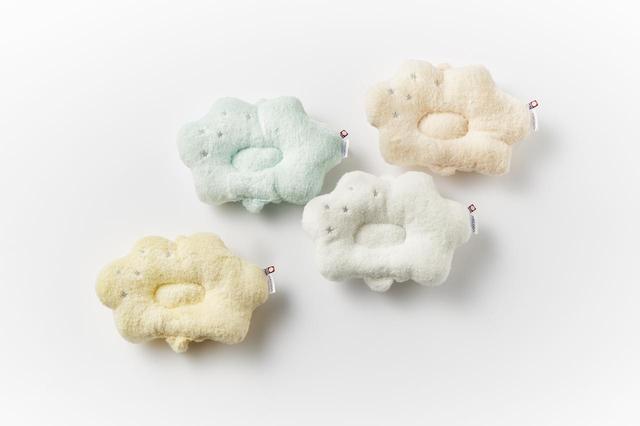 画像: 雲の上のタオル「白雲(HACOON)授乳まくら」<27cm×17cm>¥2,600