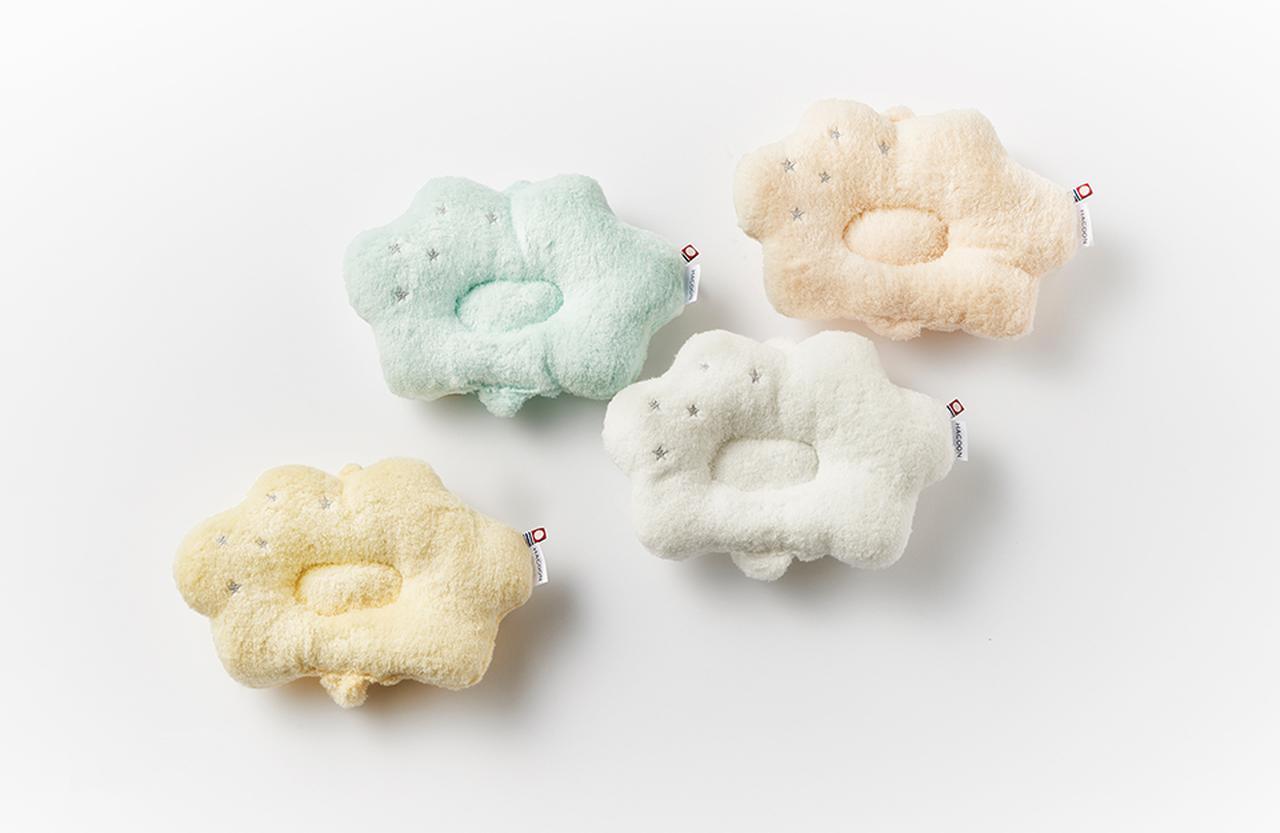 Images : 雲の上のタオル「白雲(HACOON)授乳まくら」