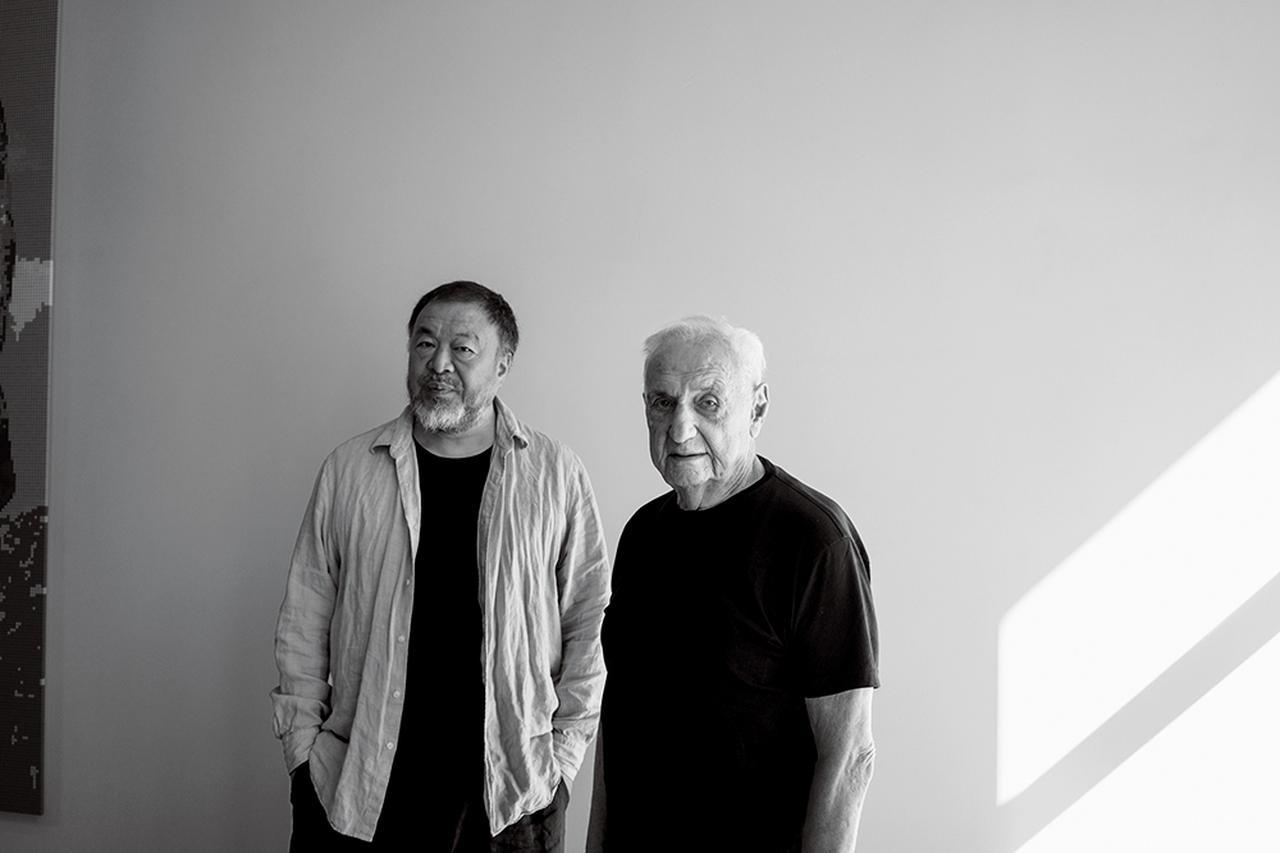 Images : 1番目の画像 - 「アイ・ウェイウェイと フランク・ゲーリー。 異端児としてのそれぞれの軌跡」のアルバム - T JAPAN:The New York Times Style Magazine 公式サイト