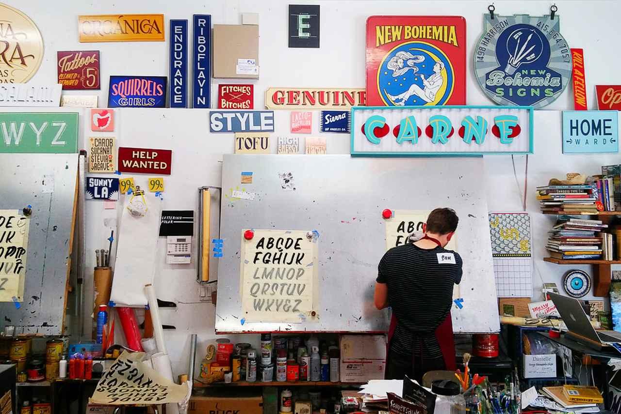 Images : 4番目の画像 - 「サンフランシスコの看板屋 デーモン・スタイヤーの 手描き看板が伝えるもの」のアルバム - T JAPAN:The New York Times Style Magazine 公式サイト