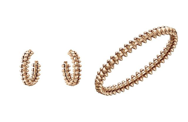 画像: (左)「クラッシュ ドゥ カルティエ」イヤリング SM<ピンクゴールド>¥417,500、 (右)「クラッシュ ドゥ カルティエ」ブレスレット SM<ピンクゴールド>¥712,500 ©︎ CARTIER
