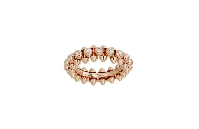 画像: 「クラッシュ ドゥ カルティエ」リング<ピンクゴールド×ダイヤモンド>¥915,000 ©︎ CARTIER