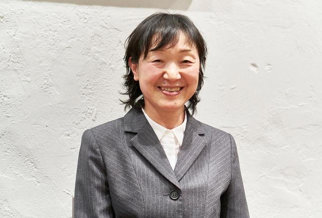 画像: 高埜よしみ氏。「錦城葡萄酒」代表取締役社長。 kinjyo-wine.com