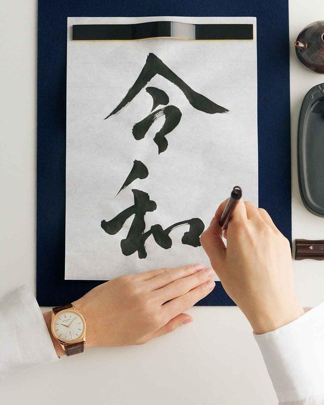 画像: MANICURE BY KIHO WATANABE(UKA), CALLIGRAPHY BY RIU AKIZUKI