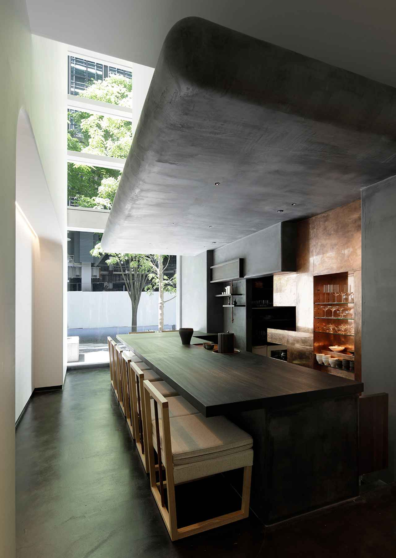 Images : 「HIGASHIYA man 丸の内」の茶房