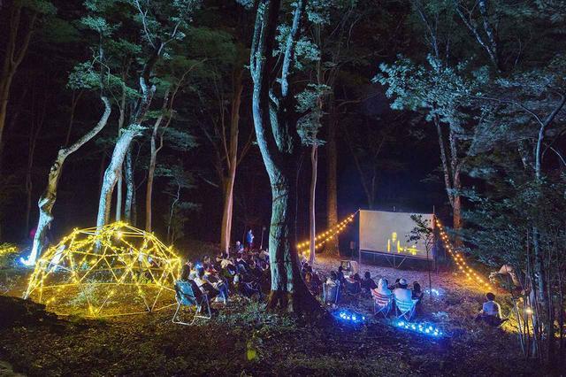 画像: 野外での映画観賞会では、短編映画のほか、TOCHKAによるワークショップで完成した作品も上映に