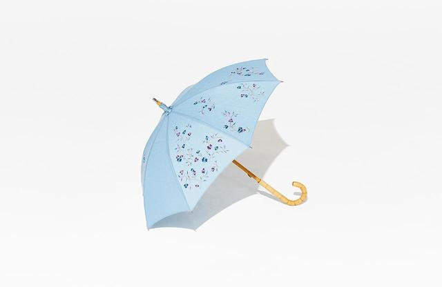 画像: 日傘<綿50%・麻50%、全長68㎝>¥50,000
