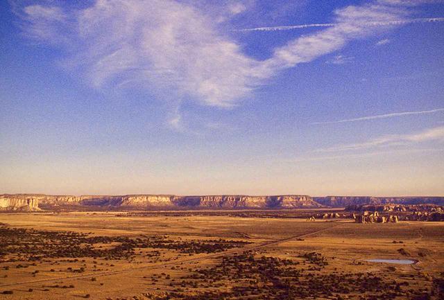 画像: ニューメキシコ州サンタフェ近くの台地