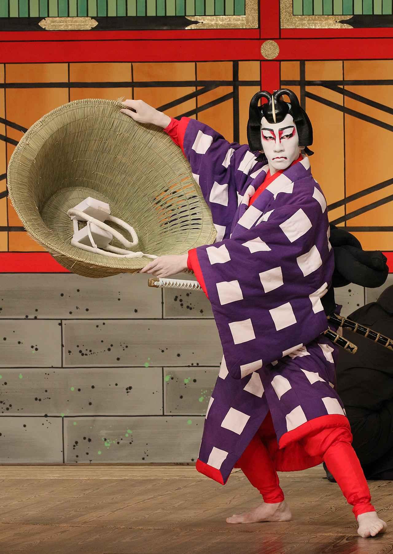 Images : 『菅原伝授手習鑑―車引―』 舎人桜丸=坂東新悟
