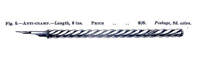画像: 前職はシルバースミス(銀細工職人)だったフランク・スマイソンが、1912年にデザインしたシルバー製のペン