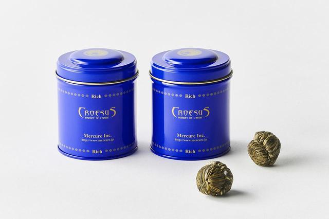 画像: 工芸茶ギフト ¥3,000 (工芸茶2缶セット)※各缶5珠入り。20種類の工芸茶からお好みの2種類を選択可