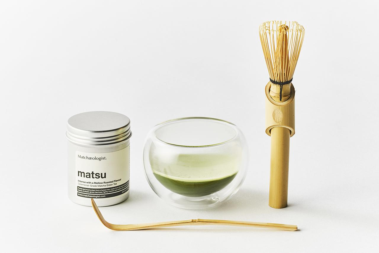 Images : 抹茶オロジストの「Matcha Brewing Kit」