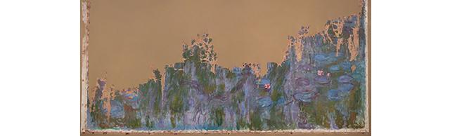 画像: クロード・モネ 《睡蓮、柳の反映》(修復後) 1916年 油彩、カンヴァス 国立西洋美術館 松方幸次郎御遺族より寄贈(旧松方コレクション) THE NATIONAL MUSEUM OF WESTERN ART, TOKYO