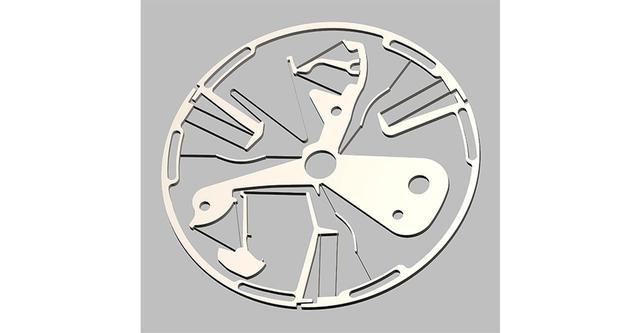 画像: デファイ ラボで用いられたオシレーター。シリコンで超精密に一体成型されている。7時位置に見える2つの小さな爪が、アンクルの役割をする COURTESY OF ZENITH