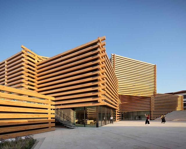 画像: 隈研吾建築年設計事務所がデザインした「オドゥンパザル近代美術館」 © NAARO