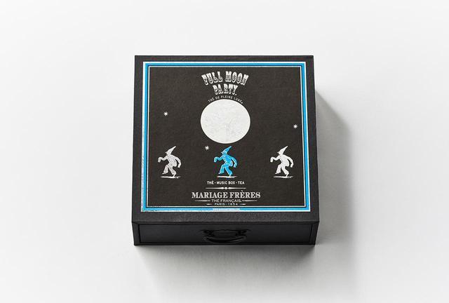 画像: オルゴール茶箱「フルムーン パーティー」 ¥8,000