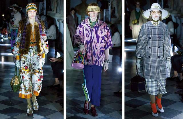 画像: グッチ2020年クルーズコレクションより。ファッションの潮流を完全に変えたアレッサンドロ・ミケーレのスタイルは、インクルーシブでありながら圧倒的な個を感じさせる COURTESY OF GUCCI SHOT BY DAN LECCA