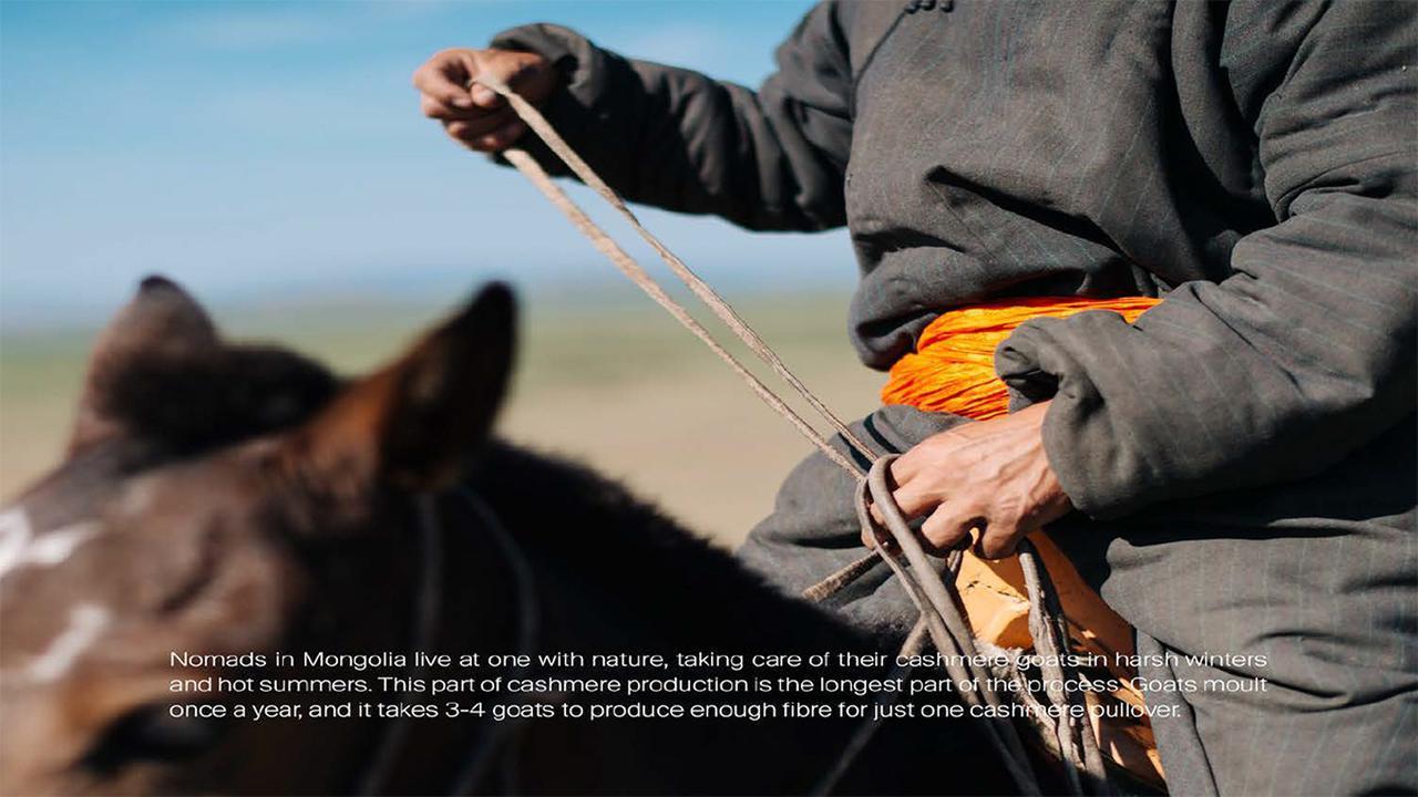 画像: 『HANDS』プロジェクトより。遊牧民たちのライフスタイルにもフォーカスしている
