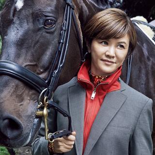 北井裕子さん(馬場馬術)
