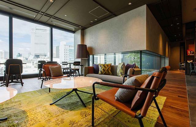 画像: 最上9階に位置するエグゼクティブラウンジ。エグゼクティブルーム、スーペリアスイート、デラックススイートの滞在ゲスト専用スペースで、無料ドリンク・スナックを提供(6:30~22:00)
