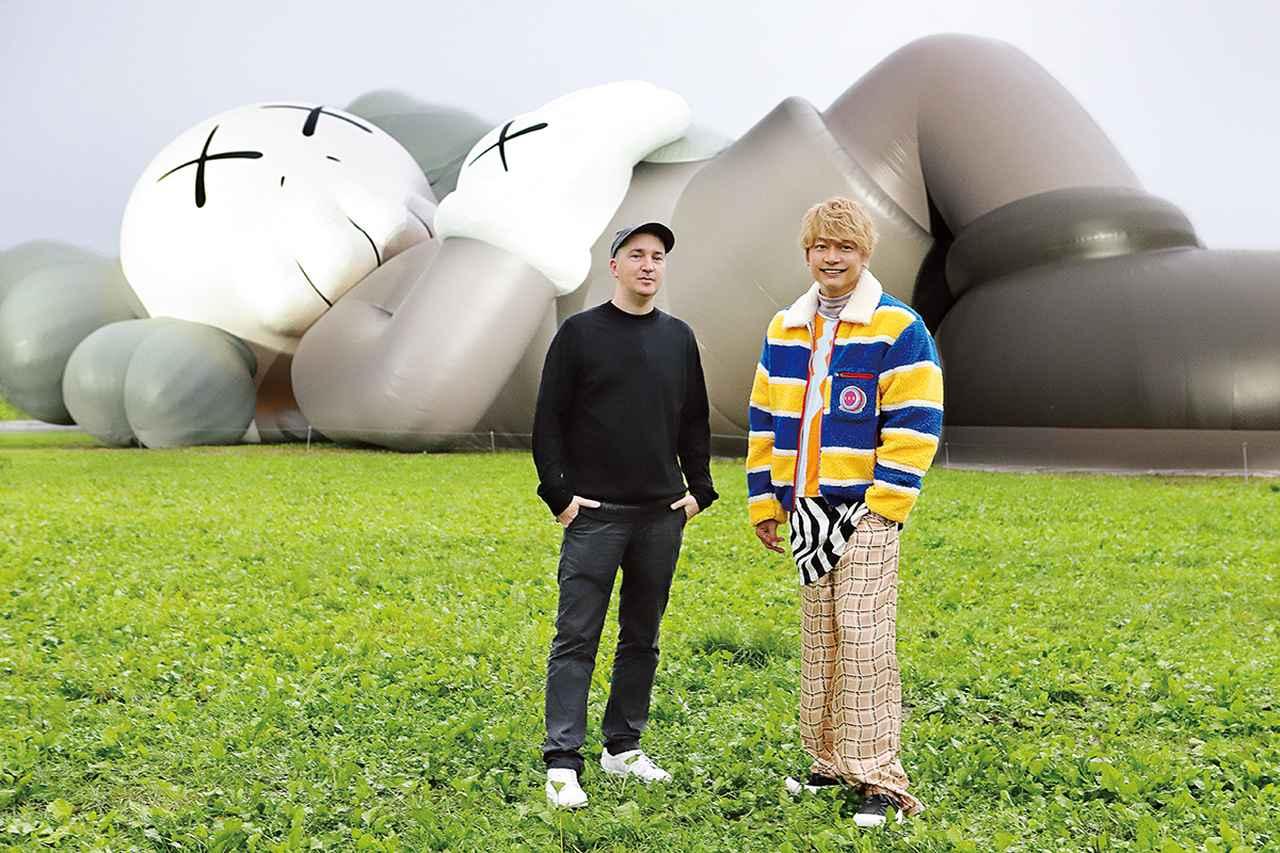 Images : 1番目の画像 - 「KAWSと香取慎吾。 ふたりが歩くアートの地図」のアルバム - T JAPAN:The New York Times Style Magazine 公式サイト