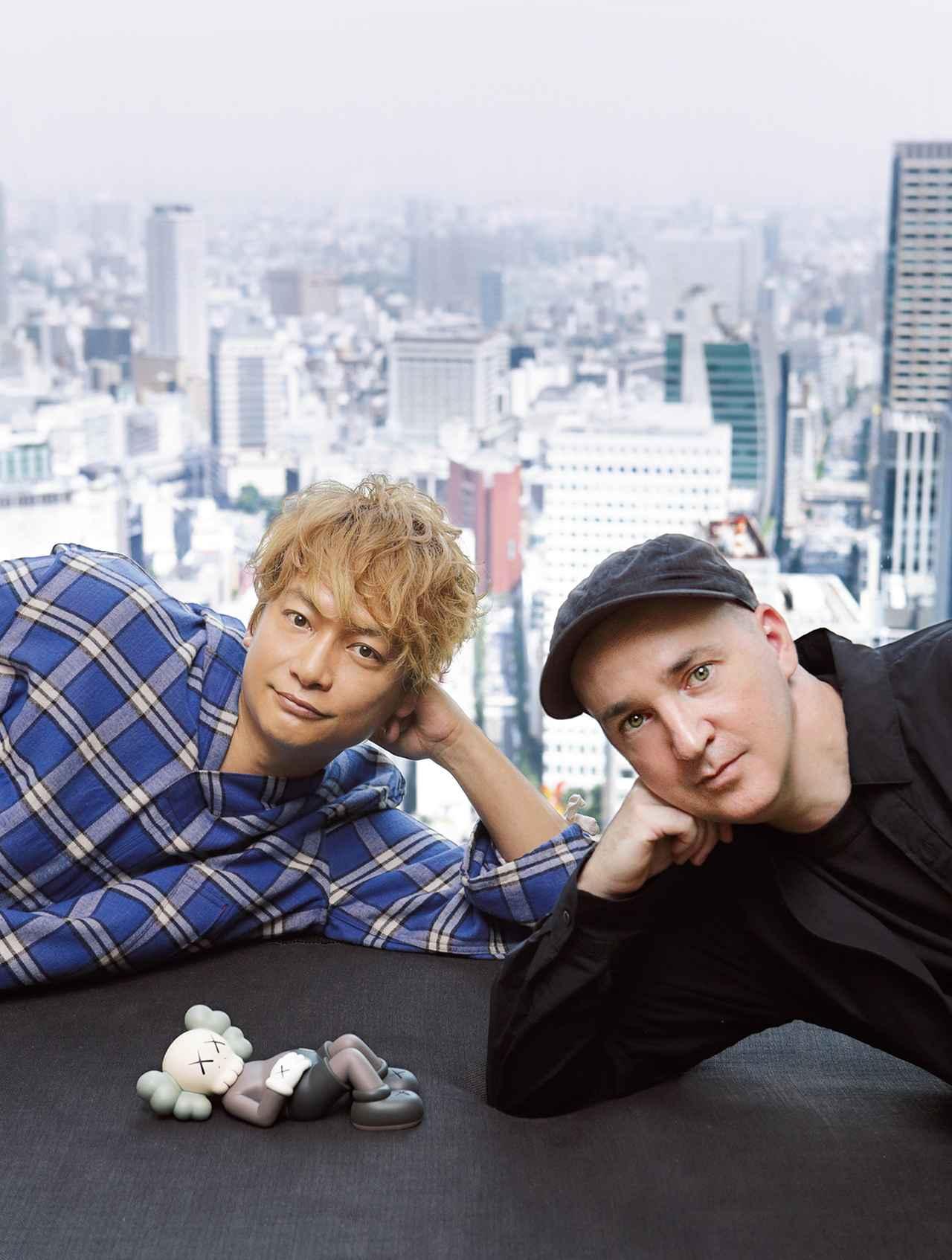Images : 4番目の画像 - 「KAWSと香取慎吾。 ふたりが歩くアートの地図」のアルバム - T JAPAN:The New York Times Style Magazine 公式サイト