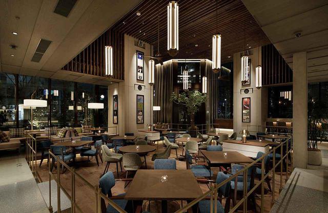 画像: 1階にある「HAMACHO DINING& BAR SESSiON」では、街のダイニング(食堂)としてリラックスできる空間と、美味しくて親しみのある料理をお洒落に提供