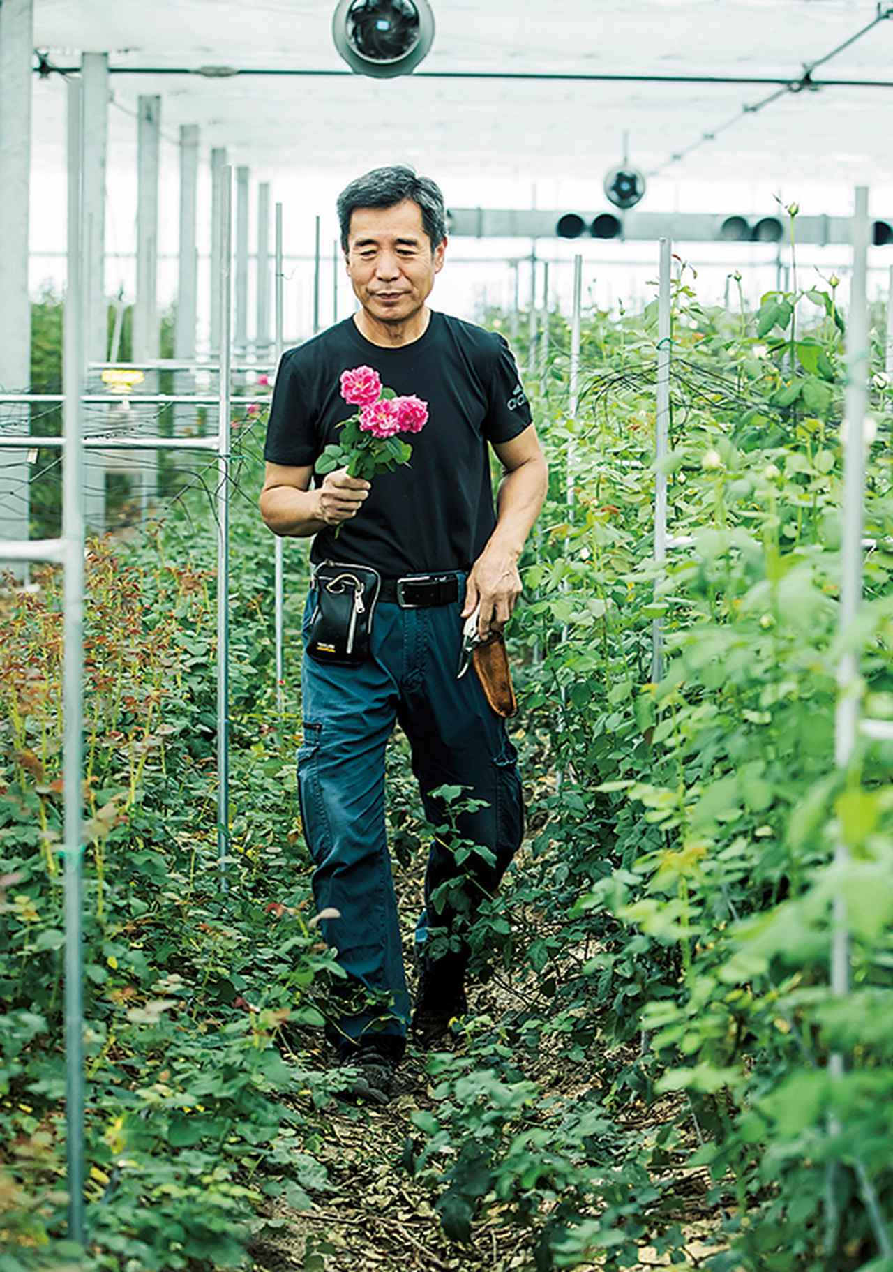 Images : 3番目の画像 - 「Rose Farm KEIJIが 生み出す唯一無二の「和ばら」。 その名前にこめられた想いを紐とく」のアルバム - T JAPAN:The New York Times Style Magazine 公式サイト