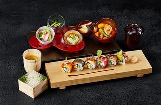 「ロール寿司御膳」¥2,600