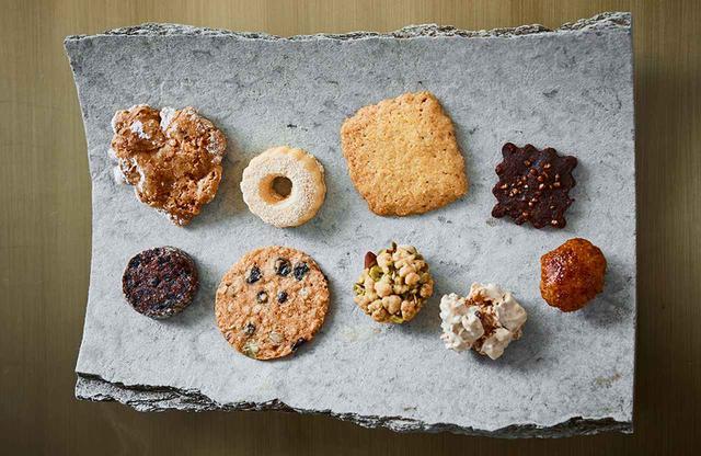 画像: クッキー詰め合わせ¥1,200~ イタリアと日本の素材を生かしたクッキーも絶品