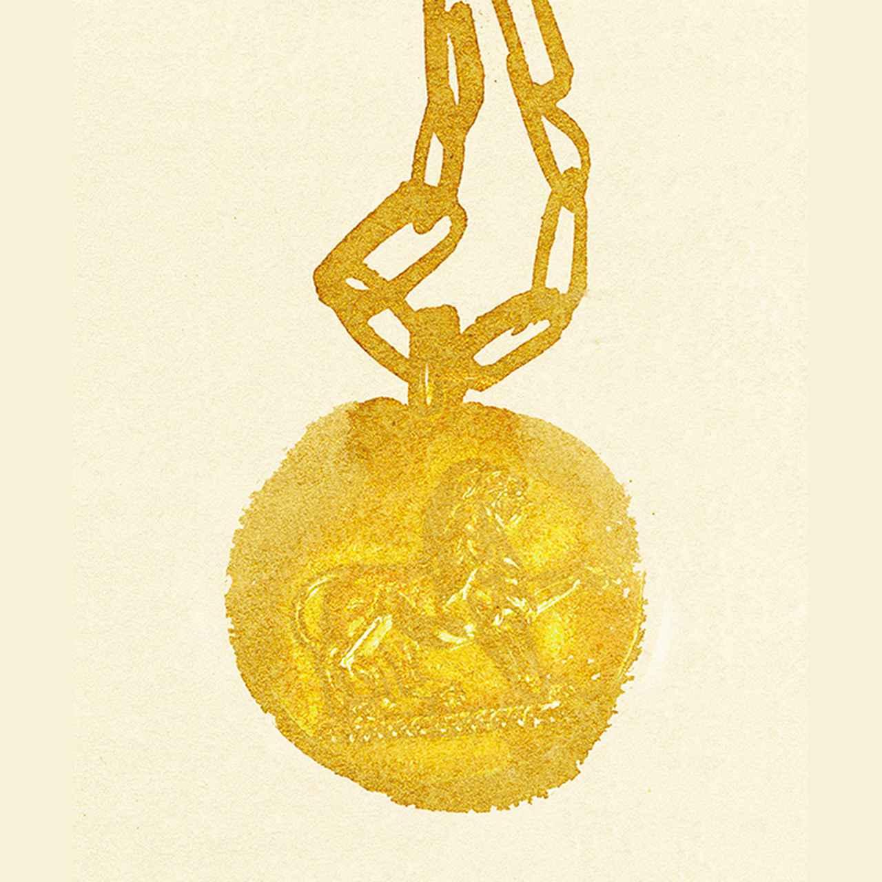 Images : ゴールドの星座のペンダント、ヴァン クリーフ&アーペル、1970年代