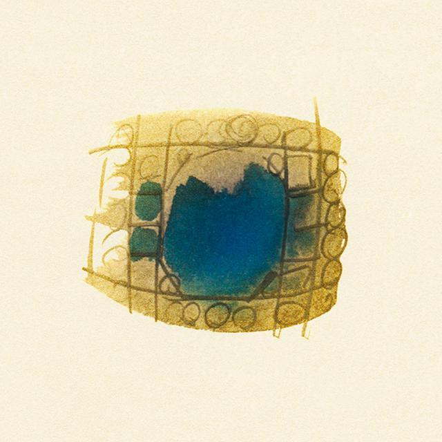 画像: アール・デコのサファイアのリング、1920年代
