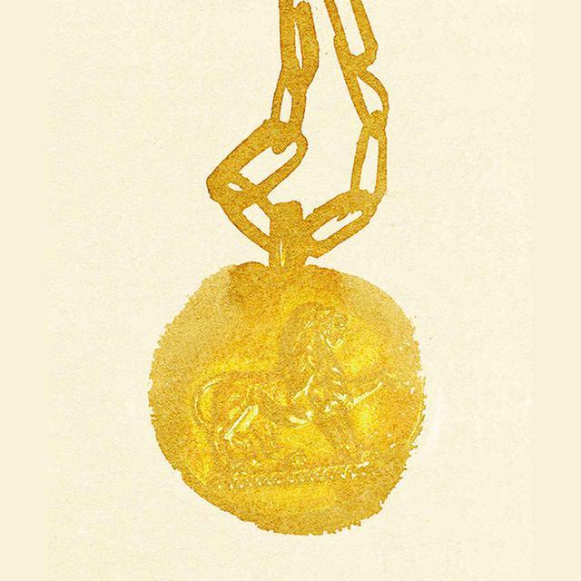 画像: ゴールドの星座のペンダント、ヴァン クリーフ&アーペル、1970年代