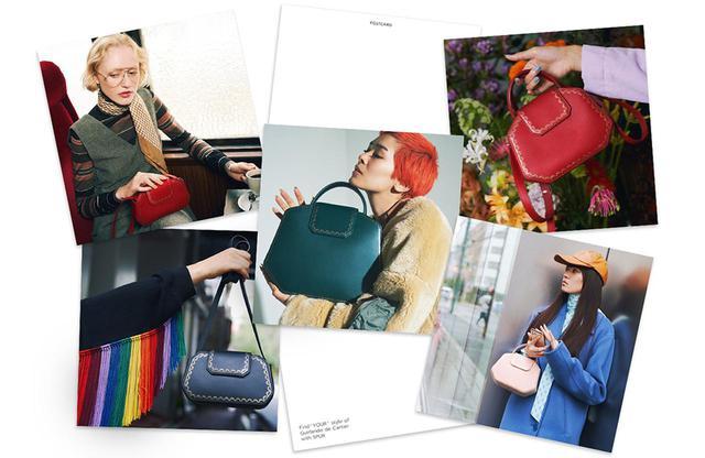 """画像: """"100 Styles of Guirlande de Cartier"""" がポストカード<全48種類>に"""
